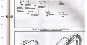 kohler engine electrical diagram re voltage regulator rectifier kohler allis chalmers in