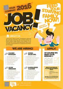 Vacancy Advertisement Template by Vacancy Flyer By Shamcanggih Graphicriver