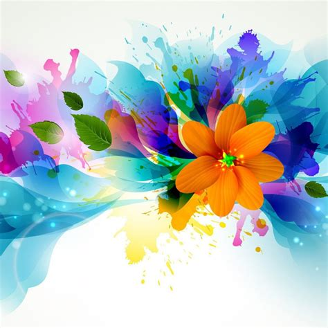wallpaper flower art abstract flower art wallpapers design imgstocks com