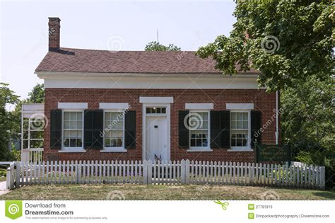 home design gallery edison the childhood home of thomas edison editorial stock photo