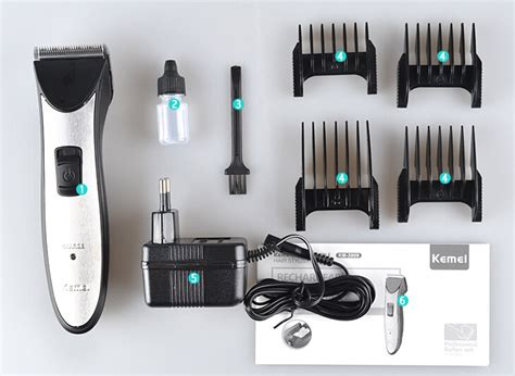 Just A Trim Hair Trimmer Alat Cukur Rambut kemei alat cukur multifunction professional trimmer km 3909 silver jakartanotebook