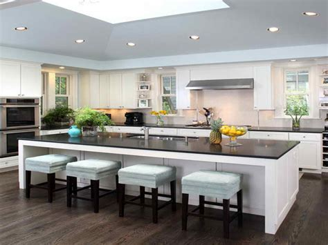 kitchen island with cooktop and seating a creative