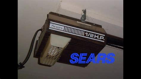 sears doors sear craftsman garage door opener manual