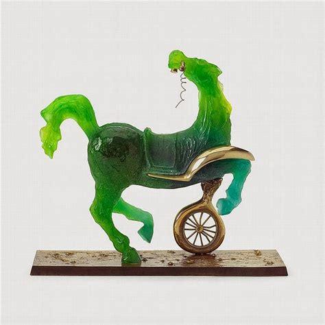can sculpture salvador dali daum glass sculpture restoration san