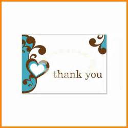 Thank You Cards Template Word 11 Free Thank You Card Templates For Word Job Resumed