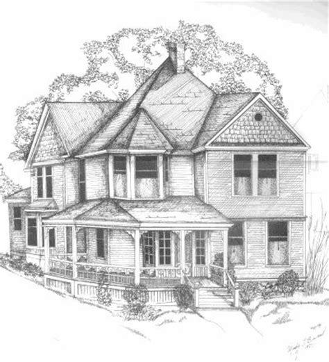 house drawing carmichael earle earle home in grand rapids