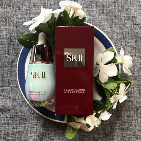 Sk Ii Aura review sk ii cellumination aura essence nora liza