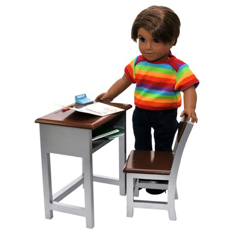 18 inch doll desk set modern style desk furniture accessories for 18