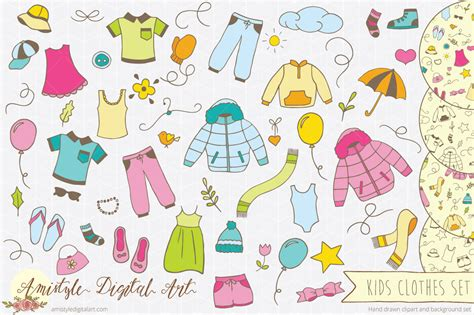 clothes pattern vector amistyle digital art