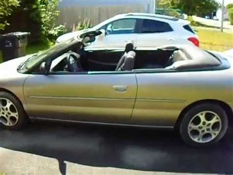 Chrysler Sebring Convertibles For Sale by 1999 Chrysler Sebring Convertible For Sale
