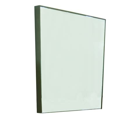 24 x 30 bathroom mirror shop style selections leander 30 in h x 24 in w walnut