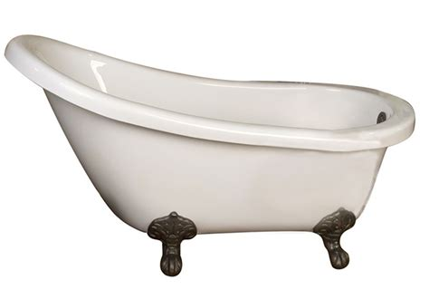 54 inch bathtubs barclay drury atsn54i wh 54 inch acrylic bathtub with imperial feet and no faucet holes