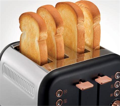 Morphy Richards 4 Slice Toaster Black Buy Morphy Richards Accents 242104 4 Slice Toaster Black