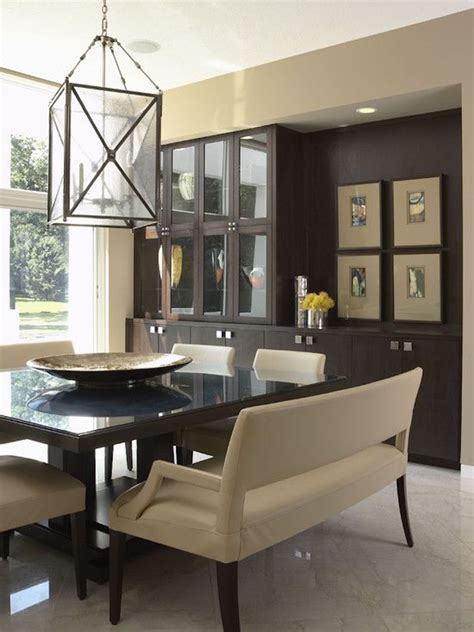 bench dining room table 10 superb square dining table ideas for a contemporary dining room