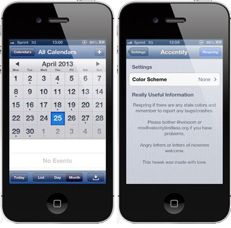 changing themes on iphone change the default ios theme color on iphone with