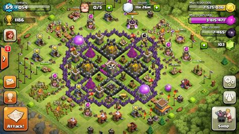 coc village layout tips town hall level 8 strategy guide clash of clans tips