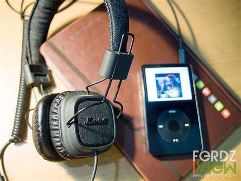 Maikor Black audio marshall major pitch black review ferdziview