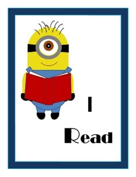Minions World Graphic 1 reading together minions clipart
