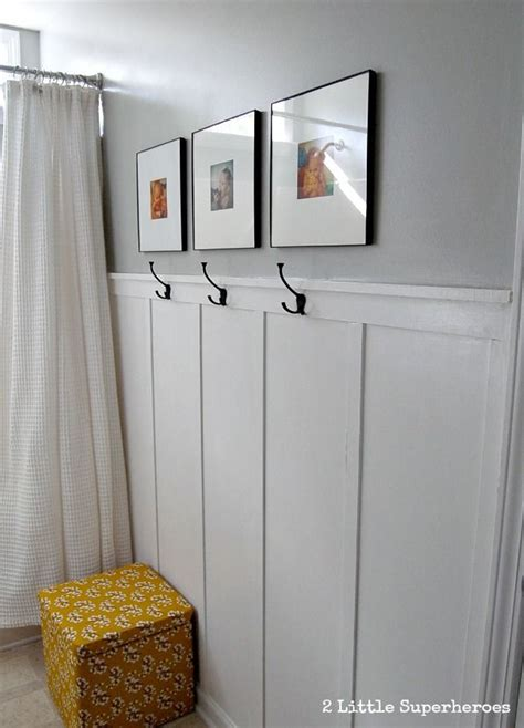 Inexpensive Wainscoting Board And Batten Pictures Woodworking Projects Plans