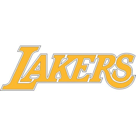 image gallery lakers logo 1964 los angeles lakers script logo light iron on stickers