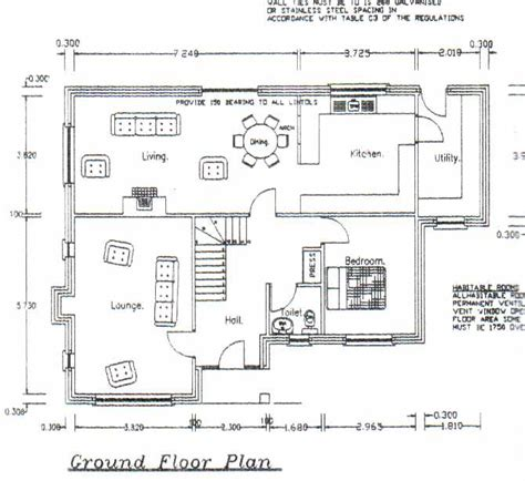 small home floor plans dormers impressive four bedroom dormer bungalow