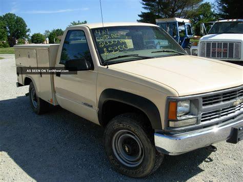 2000 chevy tool truck 4x4 3 4 ton