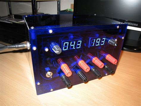 bench power supply diy adjustable bench power supply