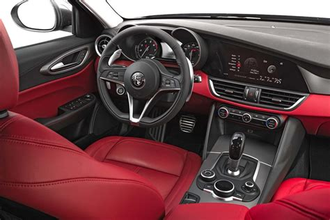 alfa romeo giulia interior 2017 alfa romeo giulia 2 0 first test two outta three