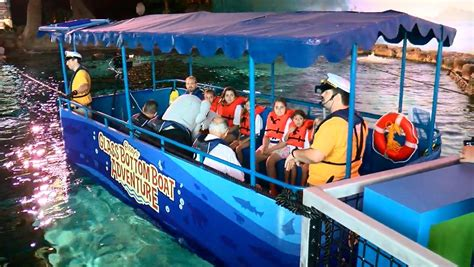 ripley s glass bottom boat new ripley s aquarium attraction gives new perspective on