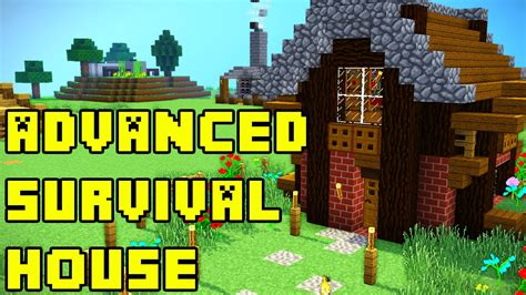 Coolhouses Com minecraft advanced survival house tutorial xbox pe pc ps3
