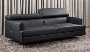 Leather 3 Seater Sofa Renzo Small Leather Sofa Top Grain 3 Seater With