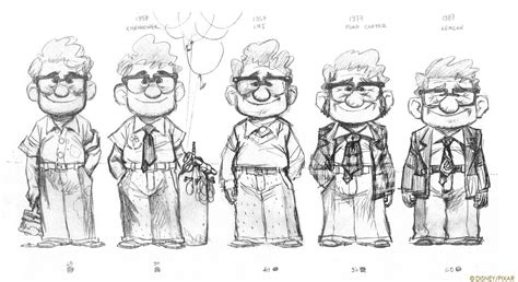 animation character layout living lines library up 2009 character design