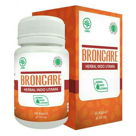 Obat Sesak Nafas Dari Herbal kapsul hiu broncare herbal sesak nafas alzafa store