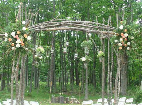 Wedding Arch With Jars 20 cool wedding arch ideas hative