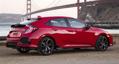honda civic hatchback 5 door 2017 honda civic hatchback priced from 19 700 in the us