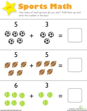 Education Worksheets Preschool by Addition Worksheets 187 Pre K Addition Worksheets