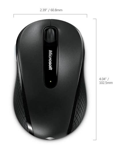 Microsoft Wireless Mobile Mouse 4000 wireless mobile mouse 4000 by microsoft ergocanada
