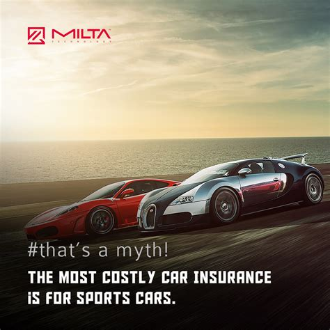 Sports Car Insurance by The Most Costly Car Insurance Is For Sports Cars Milta