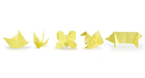 5 Note Origami - origami sticky notes content gallery recycle your