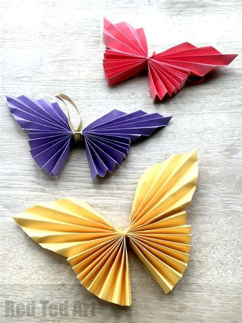 Butterfly Paper Crafts - 25 best ideas about paper butterflies on diy