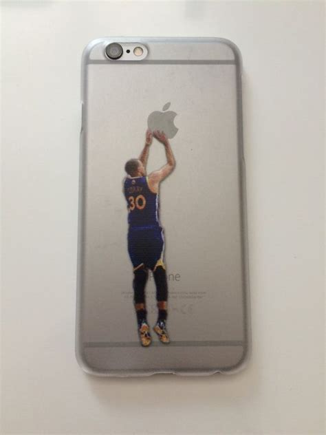 stephen curry shooting apple phone case iphone