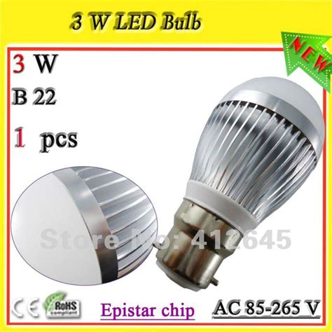 Limited Strom Led Bulb 3w 4 Watt Led Terbaru high output b22 led shop lights 3 1 watt bayonet light