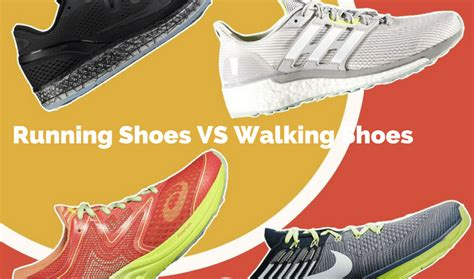 difference between running shoes and walking shoes difference between asics walking and running shoes