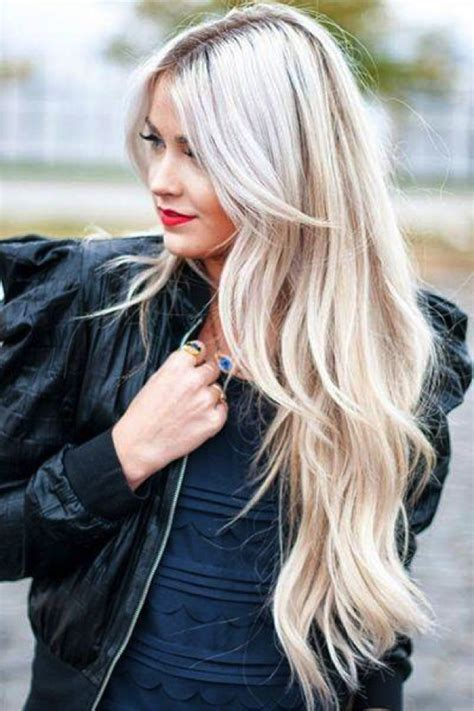 super long platinum blonde ombre hair 22 blonde balayage hair designs to upgrade your look