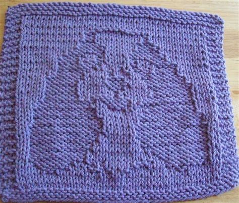pattern knitted dishcloth digknitty designs spaniel knit dishcloth pattern