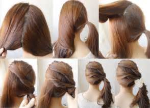 do it yourself haircuts diy easy ponytail hairstyle do it yourself fashion tips