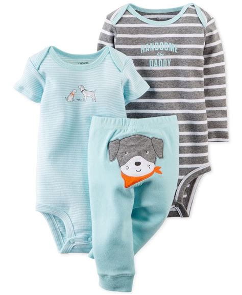 S 3 Babyboy Bodysuit And Pant Set Cs074 s baby boys 3 bodysuits set baby baby boy and shops