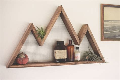 mountain home decor mountain wall shelf mountain home decor wall hanging