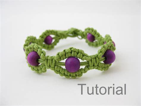 Make Macram Cord Bracelet Patterns Home - macrame bracelet pattern pdf tutorial jewelry