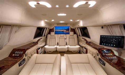 cadillac jeep interior custom stretched cadillac escalade evs offers jet